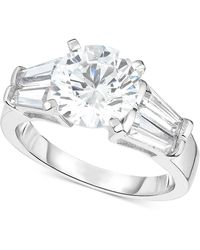 Arabella - Swarovski Zirconia Ring In Sterling Silver - Lyst