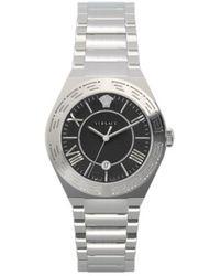 Versace New Landmark Lady Silver Watch - Metallic