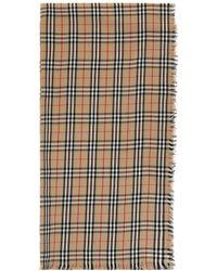 Burberry Vintage Check Cashmere Scarf - Multicolor