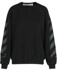 Off-White c/o Virgil Abloh Diagonal Arrow-print Sweatshirt - Black
