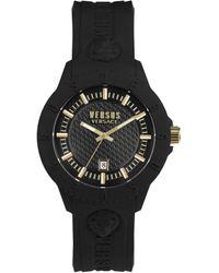 Versus Tokyo Silicone Watch - Black