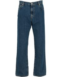 Burberry Wide-leg Denim Jeans - Blue