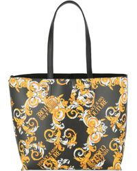 Versace Jeans Couture Reversible Baroque Print Tote Bag - Multicolor