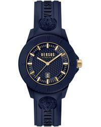Versus Tokyo Silicone Watch - Blue