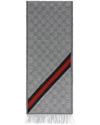 Gucci Nikky Scarf - Grey