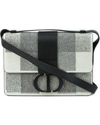Dior 30 Montaigne Shoulder Bag - White