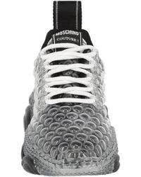 Moschino Womens Teddy Bubble Sneakers - Black