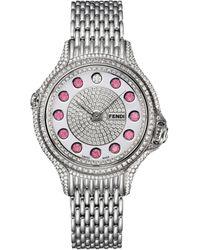 Fendi Crazy Carats Watch - Metallic
