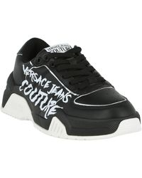 Versace Jeans Couture Women's Logo Chunky Trainer - Black