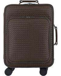 Bottega Veneta Trolley Vn Leather Suitcase - Multicolor