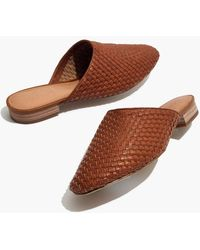 Madewell - The Cassidy Woven Mule - Lyst
