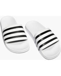Madewell - Adidas® Unisex Adilette® Slides - Lyst