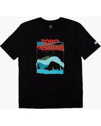 MW Topo Designs® Red Mountain Tee - Black