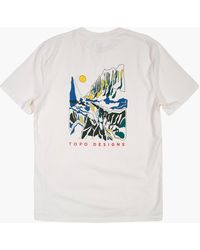 MW Topo Designs® Basin Tee - Natural