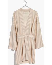 Madewell - Striped Catnap Robe - Lyst