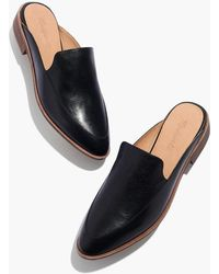 Madewell - The Frances Loafer Mule In Leather - Lyst