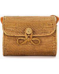 Madewell - Bembien® Lily Rattan Crossbody Bag - Lyst