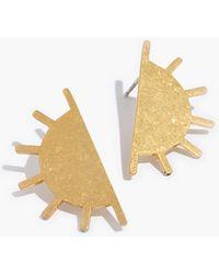 Madewell - Sun Post Earrings - Lyst