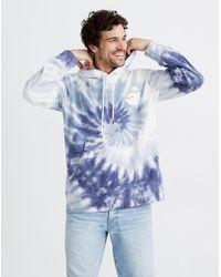 MW Madewell X Free & Easy® Tie-dye Hoodie Sweatshirt - Blue