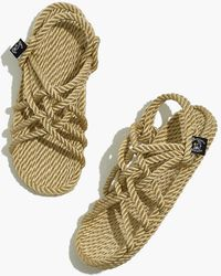 MW - Nomadic State Of Mind Jc Rope Sandals - Lyst