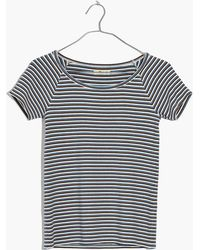 Madewell - Canal Top In Stripe - Lyst
