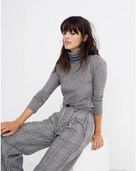 Madewell - Whisper Cotton Turtleneck - Lyst