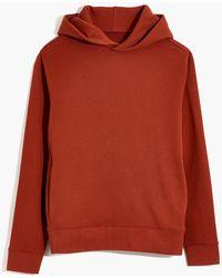 MW L Betterfleece Hoodie Sweatshirt - Red