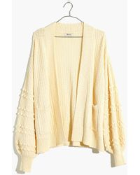 Madewell - Bobble Cardigan Sweater - Lyst