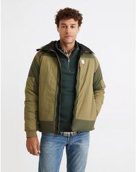 MW Topo Designs® Mountain Puffer Hoodie Jacket - Green