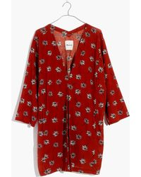 Madewell | Pre-order Maldives Cover-up Robe In Fresh Daisies | Lyst