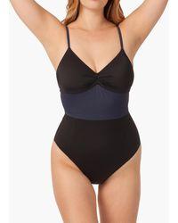 MW Livelytm Colorblock One-piece Swimsuit - Black