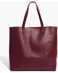 Madewell The Transport Tote - Red