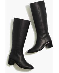 MW The Francie Tall Boot - Black