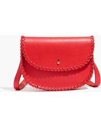 462347b084d972 Madewell The Siena Convertible Belt Bag in Red - Lyst