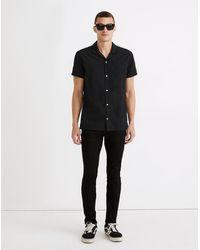 MW Skinny Jeans In Black Wash