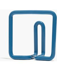 Madewell Newmade La Square Wire Hook - Blue