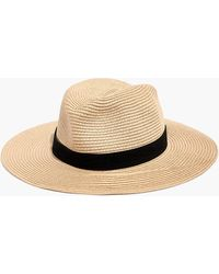 Madewell - Packable Mesa Straw Hat - Lyst