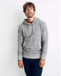 MW Pullover Hoodie Sweatshirt - Grey