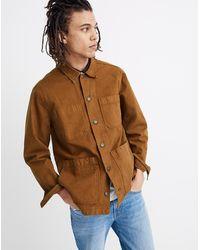 MW Canvas Chore Jacket - Brown