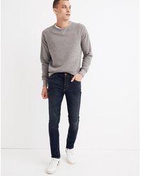 MW Skinny Jeans In Heney Wash - Blue