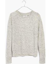Madewell - Cashmere Sweatshirt - Lyst