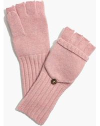 Madewell - Convertible Ribbed Gloves - Lyst