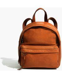 MW The Lorimer Mini Backpack - Brown
