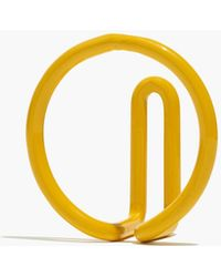 Madewell Newmade La Circle Wire Hook - Yellow