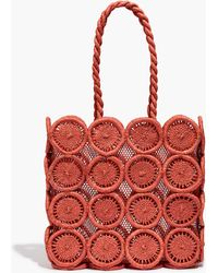 Madewell - The Straw Catania Tote Bag - Lyst