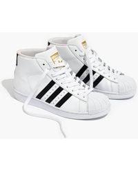 14fdf631f08c38 Madewell Vans® Sk8-Hi Slim Zip High-Top Sneakers In Navy Leather in ...