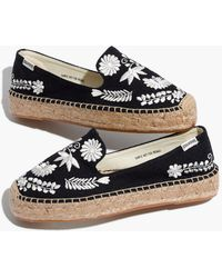 Madewell - Soludos Embroidered Ibiza Smoking Slippers - Lyst