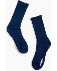 MW Drutherstm Everyday Organic Cotton Crew Socks - Blue