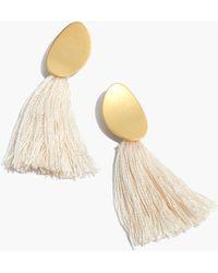 Madewell - Tassel Statement Earrings - Lyst