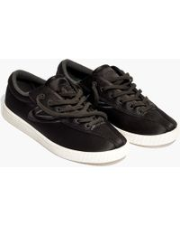 Tretorn - Madewell X ® Nylite Plus Trainers In Satin - Lyst